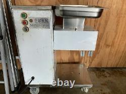 110V 500KG Output Meat Cutting Machine Meat Cutter Slicer with One Blade