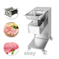 110V 500KG Output Meat Cutting Machine Meat Slicer with One Blade Cutter