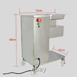 110V Meat Cutting Machine 500KG Output Meat Cutter Slicer One Blade Multi-size