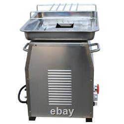 110V QX Stainless Commercial Meat Slicer with 4mm Blade Meat Cutter Equipment