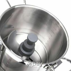 1500W Meat Slicer Commercial Stainless Steel 10L Liters Capacity Food Processor