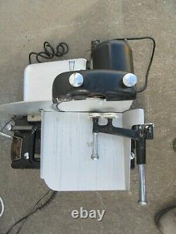 1930s AMERICAN SLICING MACHINE MEAT CHEESE SLICER WithBLADE SHARPENER DELI
