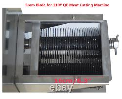 1PC 5mm Blade for QE/QH/QSJ-A Commercial Meat Cutting Machine Meat Slicers New