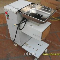 500KG/H S/S 2.5-25mm Blade Electric Fresh Meat Cutter Slicer Processing Machine