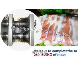 500KG/h meat cutting slicing machine, pork, beef cutter slicer, with two free blade