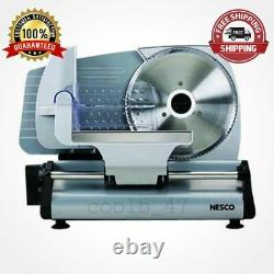 7.5-inch Electric Cheese Cutter Food Meat Slicer Blade Slicing Stainless Steel