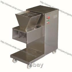 800KG/H 2.5-25mm Blade Electric Heavy Duty Restaurant Meat Dicer Dicing Machine