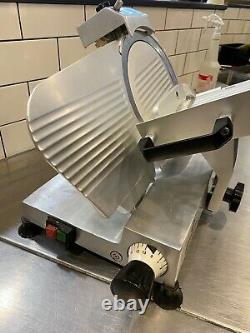 Apuro Meat Slicer, Anodized Aluminium Body, Commercial Quality, 250mm Blade