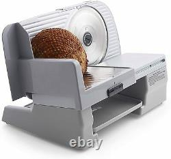 Chef's Choice 609A Electric Meat Slicer with Stainless Steel Blade Features