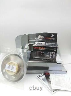 Chef's Choice Electric Food Meat Slicer -Model 640 & Shapener & Extra Blade