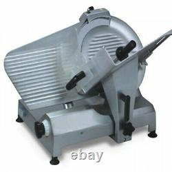 Commercial 11.8 inch Blade Meat Slicer Deli Cheese Food Cutter Kitchen