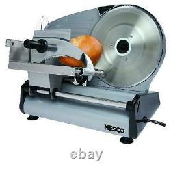 Commercial Blade Electric Meat Slicer Machine Deli Cheese Food Vegetable Cutter