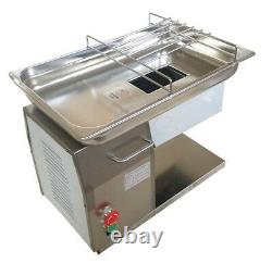 Commercial Meat Cutting Machine with 5mm Blade Desktop Restaurant Cutter Slicer