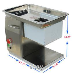 Commercial Meat Slicer 3mm Blade Table Type Home Kitchen Cutter 110V Machine