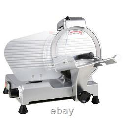 Commercial Meat Slicer Stainless Steel 10 Blade Cheese Food Electric Cutter