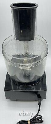 Cuisinart 7 Cup DLC-5 TX Food Processor with 2 Blades TESTED WORKS PERFECT