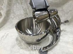 EXC SALADMASTER Machine Food Processor & DOUBLE WALL 3.5QT MIXING BOWL