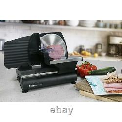 Electric Food Meat Cheese Slicer Cutter 7.5 Non Slip Removable Blade Kitchen