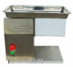 Food Grade Meat Slicer Electric Powered Meat Cutter Machine with5mm Strong Blade