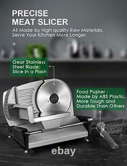 High Quality Light Duty Meat Bread Cheese Slicer 200mm Stainless Steel Blade