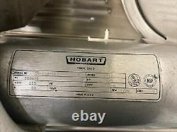 Hobart 1612 Commercial Deli Meat Slicer With One Blade