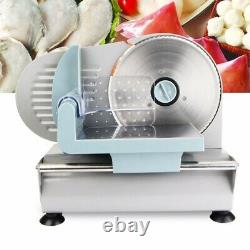 Home/Commercial Electric Meat Slicer Blade Deli Cutter Veggies Food Cutter