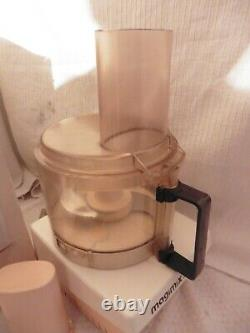 Magimix R1 Vintage food processor With Chopping Blade and 2 Slicing Discs 1980s
