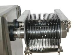 Meat Processing Equipment! QX 110V Stainless Commercial Meat Slicer With 3mm Blade