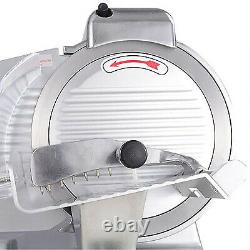 Meat Slicer Commercial Electric Food Slicer 10-inch Stainless Steel Blade