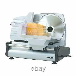Meat Slicer Electric Food Cutter Cheese 7.5 Stainless Steel Blade Kitchen Home
