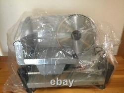 Meat Slicer Metal Electric Deli 150W 20cm Blade Brand New Boxed