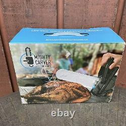 Mighty Carver Electric Knife Chainsaw Model EK1126 Stainless Blade Meat Slicer