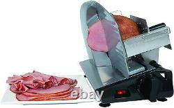 Nesco 7.5-inch Blade Electric Cheese Cutter Food Meat Slicer Bread Slicing Home
