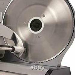 Nesco Commercial Home Electric Meat Cheese Food Slicer Detachable NEW