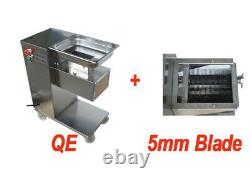 New Commercial Meat Slicer Body with5mm Cutter Blade QE Meat Cutter 160541+160543