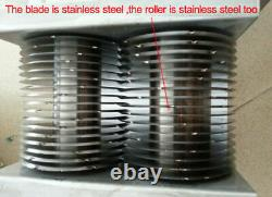 One Set Customized Blade for 500KG QE Model Meat Cutter Slicer Cutting Machine