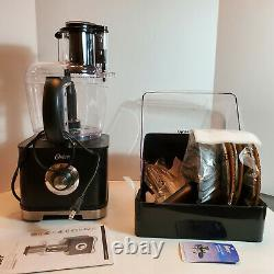 Oster 11 Cup Full Size Wide Mouth Food Processor with Attachments New WO Box