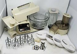 Oster Regency Controlled Power Kitchen Center Set with Lots of Attachments