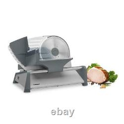 Pro Kitchen Commercial Blade Electric Meat Slicer Deli Cheese Food Cutter Steel
