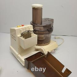 Sanyo Food Factory Processor SKM-1550 Tested Works Excellent Condition
