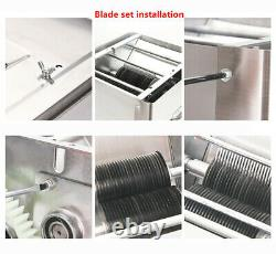 Stainless steel meat slicer blade set accessories 7MM