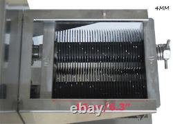 TECHTONGDA 4mm Blade for 110V QE Stainless Meat Cutting Slicer Machine