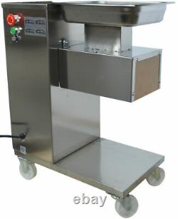 Top-grade QE Commercial Stainless Meat Slicer Body with 3mm Blade USA Stock