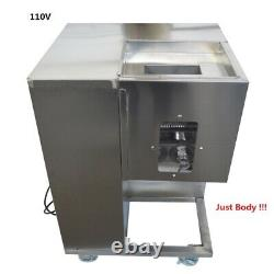Two Motors Stainless Steel 110V QSJ-A Commercial Meat Slicer Body without Blade
