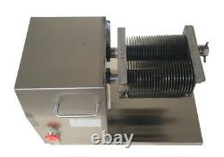 US Shipping! QH Commercial Meat Slicer with 5mm Blade Electric Meat Slicer NEW