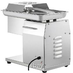 VEVOR 250kg/h Electric Commercial Meat Slicer Cutting Machine Cutter with Blade
